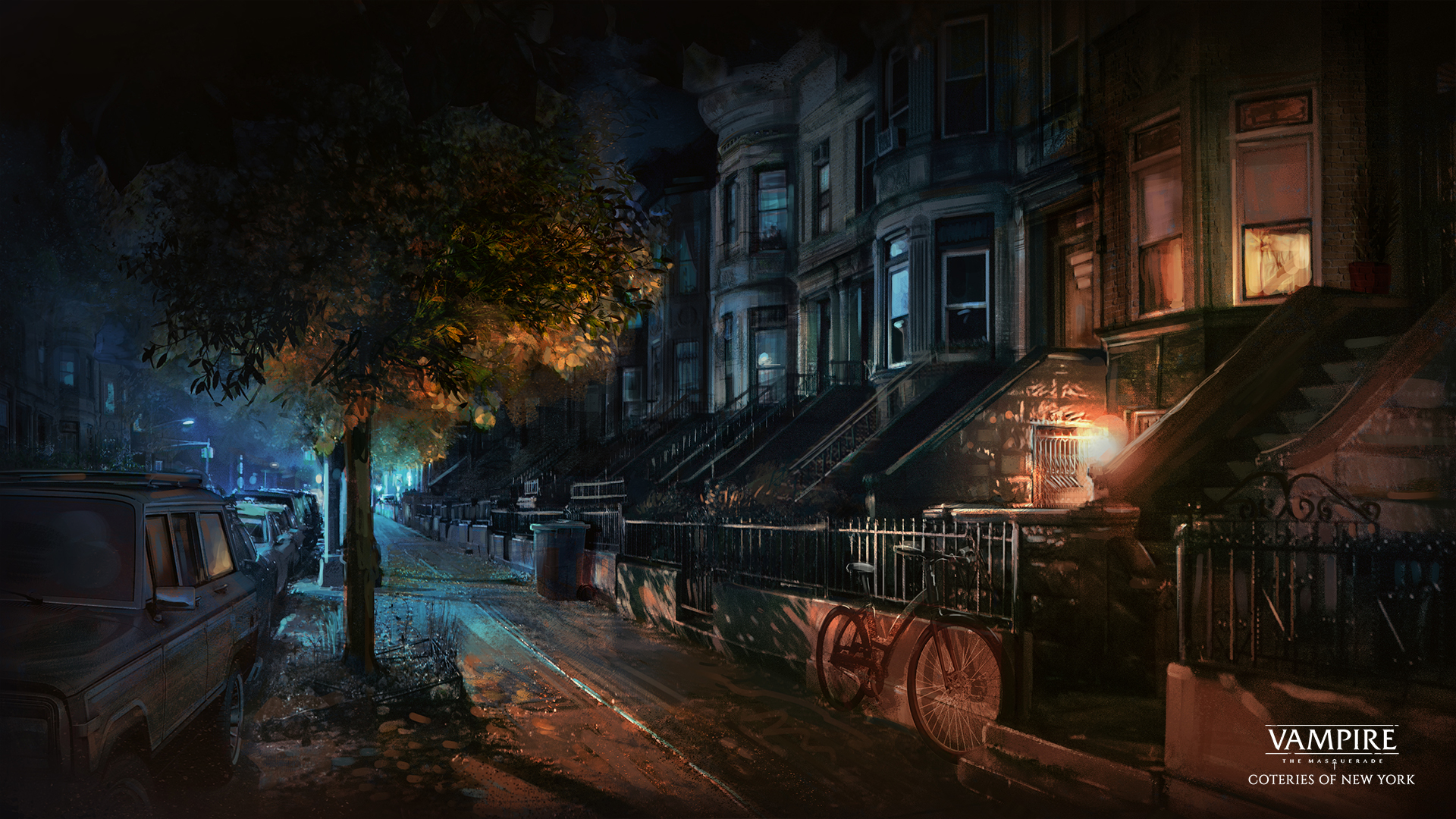 Vampire The Masquerade Coteries Of New York Wallpapers Drawdistance Game Developer
